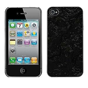 Cubierta de la caja de protección la piel dura para el Apple iPhone 4 / 4S - Baby Footsteps