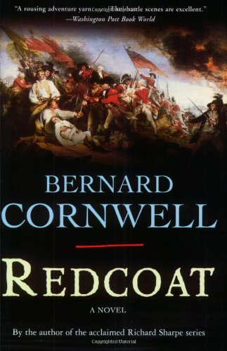 Book cover for Redcoat