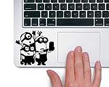 Minions taking Selfie Macbook Laptop Trackpad Vinyl Sticker Decal
