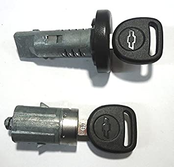 2 x Car Front Locking Cab Door Handle 4 Keys