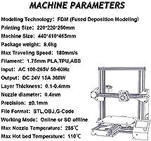 creality Ender de 3 Impresora 3d vida unidad Imprimir V de ...