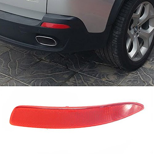 Ricoy Rear Right Side Bumper Cover Lens Lamp Reflector Housing Tail Warning Light For BMW X5 E70/71 -