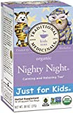 : Traditional Medicinals Just for Kids Organic Nighty Night Tea, 18 Tea Bags (Pack of 6)