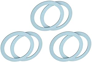 SixElements(6 Packs) Blender Gasket,Replacement Parts Sealing Ring Gaskets O-ring Gasket Seal O-Gasket Rubber, Fit for Oster and Osterizer Blenders