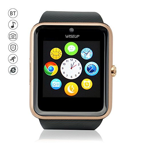 Amazon.com: GT08 Smart Watch Wrist Watch (Gold): Electronics
