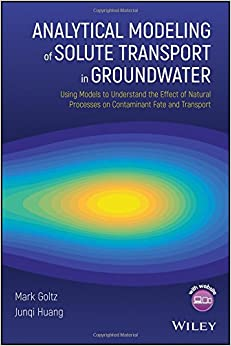 |ZIP| Analytical Modeling Of Solute Transport In Groundwater: Using Models To Understand The Effect Of Natural Processes On Contaminant Fate And Transport. fueras Kongdoo precios rapida riesgos Nuestro
