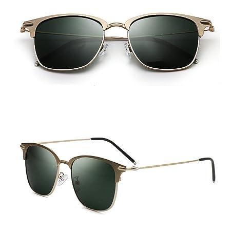 Sonnenbrillen NAN Retro Persönlichkeits-Entfärbung polarisierte Licht-Antrieb ein Auto-koreanische Version Gläser (Farbe : B) 741LRH4o