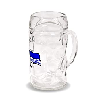 Hertha BSC Berlin Fahne Pur Schnapsglas