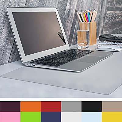 """casa pura Non-Slip Desk Mat   20"""" x 26"""" (1.6'x2')   PVC & Phthalate Free   Multiple Colors to Choose from   Matching Chair Mats Available"""