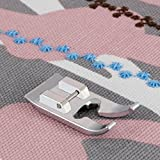 journey babylock sewing machine - HONEYSEW Candlewicking Foot Snap-On #SA193 Metal Open Toe Foot For Low Shank Home Sewing Machine