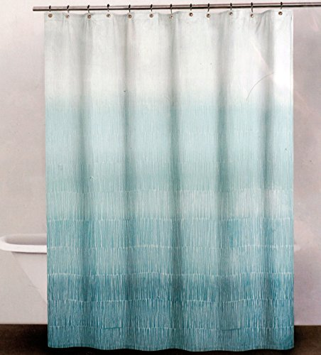 DKNY Fabric Shower Curtain White product image