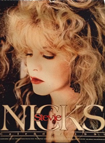 1999 Stevie Nicks Calendar - Unopened Brand New Collectible Shrink-wrapped BIG - Shrink Binding Wrapped