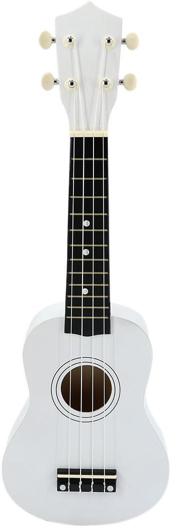 ウクレレ、子供子供用ギターsopraro木製ウクレレ大人hmane 21インチEnvironmental beginnerb - - - - - - - 20.87*6.89Inch ホワイト IPM2T4JQT421884IM112WH7F