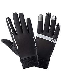 dissylove Cycling Glove Touchscreen Bicycle Full Finger Gloves Mountain Bike Road Racing Anti-Skid Gel Pad Riding Work Gloves Men Women