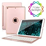 2018 ipad 9.7 case with keyboard Compatible with 2017 iPad 9.7 5th Generation
