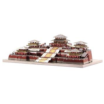 D DOLITY 1: 2300 Juguete de Construcción de Arquitectura Modelo de Palacio de Epang 3D