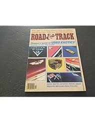 Road Track Oct 1985, Used Exotics, Aston Martin