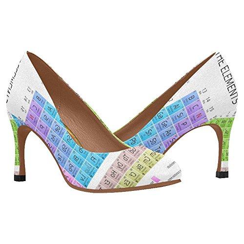 InterestPrint Womens Classic Fashion High Heel Dress Pump Shoes Multi 10