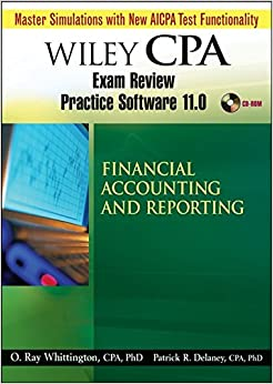 Wiley CPA Examination Review Practice Software 11.0 FAR Revised