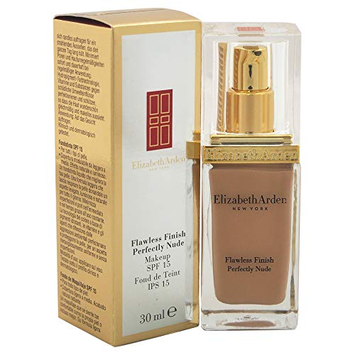 Elizabeth Arden Flawless Finish Perfectly Nude Broad Spectrum SPF 15 Makeup, Bisque, 1.0 fl. oz.