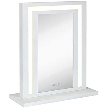 amazon com modern white hollywood vanity mirror with lights