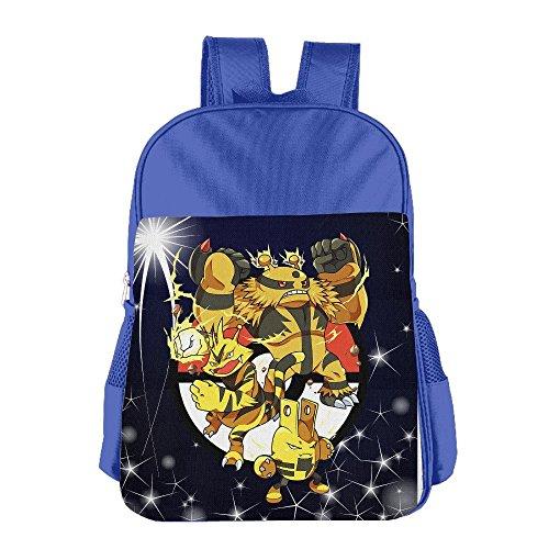 Elecfamz Pokemon Cartoon Funny Child Hisper Lunch Kit School Bag