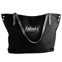 Ladies's Fallout 4 Pip-Boy Logo Shoulder Bags