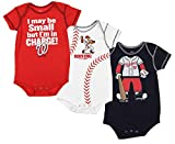 Washington Nationals MLB Infant 3 Piece Onesie Pack, Red/White/Navy