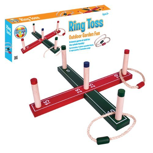 Benross Summer Play Garden Fun Ring Toss Quoits Set by Benross Summer Play