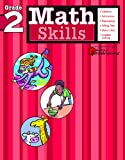Math Skills: Grade 2 (Flash Kids Harcourt Family Learning)