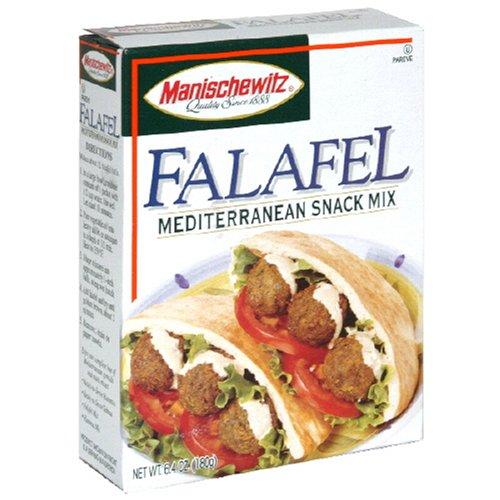 MANISCHEWITZ Falafel Mix, 6.4-Ounce Boxes (Pack of 4) by Manischewitz