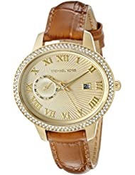 Michael Kors Womens Whitley Brown Watch MK2428