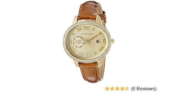 416637b308db Amazon.com  Michael Kors Women s Whitley Brown Watch MK2428  Michael Kors   Watches