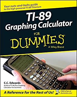 TI-89 Graphing Calculator For Dummies (0764589121) | Amazon price tracker / tracking, Amazon price history charts, Amazon price watches, Amazon price drop alerts