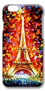 iphone 6 case,iphone 6 cases,iphone 6 hard cover case, Protective Slim 3D Case Cover for iphone 6 4.7 inchEiffel Painting