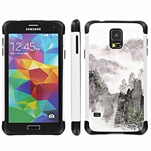 [ArmorXtreme] Drop Proof Dual Layer Protection Case (Moutain Art) for Samsung Galaxy S5