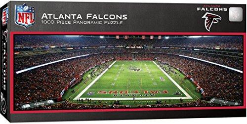 MasterPieces NFL Atlanta Falcons 1000 Piece Stadium Panoramic Jigsaw Puzzle ()