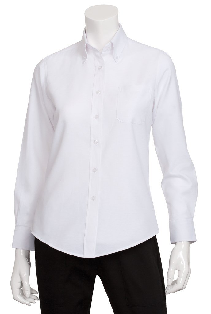 Chef Works Womens Oxford Dress Shirt