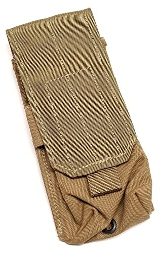 Allied Industries USMC FSBE M4 1x2 Magazine Pouch Coyote Brown