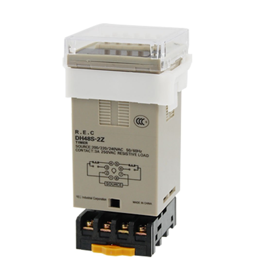 AC 220V Digital Timer Programmable Time Delay Relay