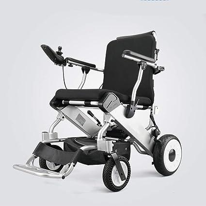 BHXUD Silla De Ruedas Eléctrica Wtian, Luz Plegable De Ancianos Scooter Inteligente Velocidad Ajustable De