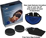 Sleep Mask with Ear Muffs for Sleeping, Blue