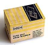 35MM DOUBLE GLASS SLIDE BINDERS 20 IN ORIG BOX