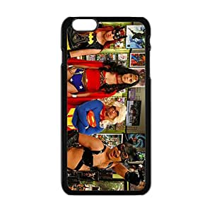 The Big Bang Theory Phone Case for Iphone 6 plus black