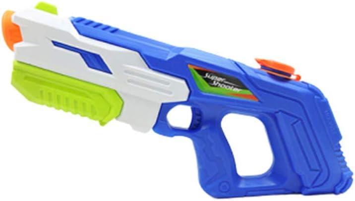 TOYANDONA 1 Unid Práctico Juguete Portátil Pistola de Agua para Niños Jugar Agua Juguete Verano Playa Juguetes de Remojo de Agua para Niños Pequeños Azul