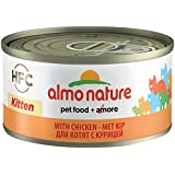 Almo Nature HFC Natural - Kitten with Chicken (Pack of 24 x 70g Tins)