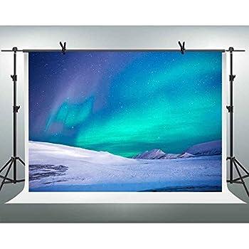 Amazon Com Fh 7x5ft Beautiful Northern Hemisphere Aurora