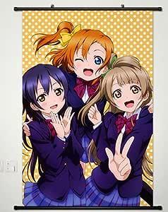 4582 Anime Love Live Kousaka Honoka Decor Poster Wall Scroll cosplay