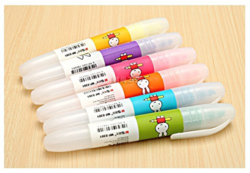 Supplies Colorful Animal Highlighter Pen for Kids Writing and Drawing24pcs/set
