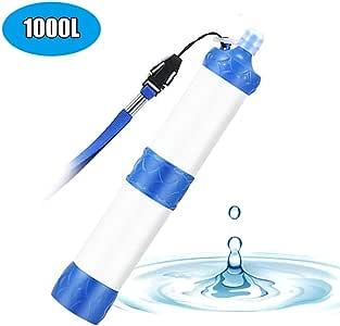Portátil Personal Purificador de Agua, con 1000 litros de 4 etapas ...